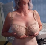 My wife's lovely tits
