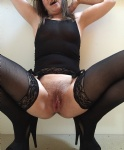 Just realised I hadn't posted any nylon pics, how remiss of me ;-)