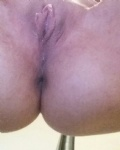 One nice clean pussy and arse. Who wants to come play?