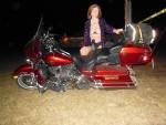 "I love being a ""biker"" chick!!!"