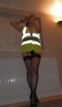 Don't think they would let me on a building site dressed like this!! Or wou...
