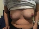 Wife milk tits