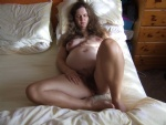 When she was pregnant always walking around naked