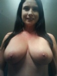 Who's up for tit fucking my wife then covering these in their cum?