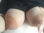 Sexy pregnant titties.