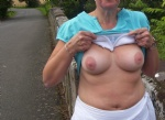 outdoor upskirts and flashing