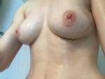 My wet perky boobs